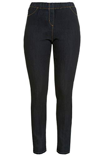 GINA LAURA Jeans, Julia, Jeggings, Leggings para Mujer, Blau (Darkblue 93), 50