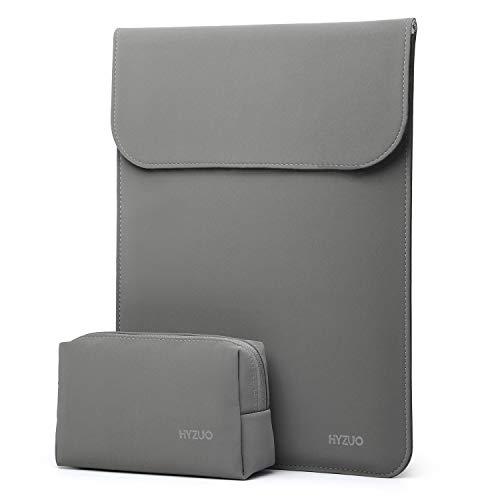 HYZUO 13-13,5 Pulgadas Funda Protectora Ordenador Portátil Maletín de Bolsa Compatible con 13,5 Surface Laptop/Antiguo Macbook Air 13/MacBook Pro 2012-2015/12,9 iPad Pro 2015 2017/Hp Spectre x360 13