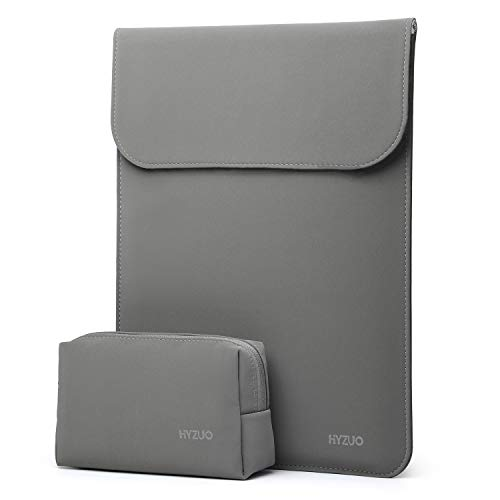 HYZUO 13 Zoll Laptop Hülle Tasche Laptophülle Compatibel mit 2018-2020 MacBook Air 13 A2179 A1932/MacBook Pro 13 2016-2020/iPad Pro 12,9 2020 2018/Dell XPS 13/Surface Pro X 7 6 5 4 mit kleine Tasche