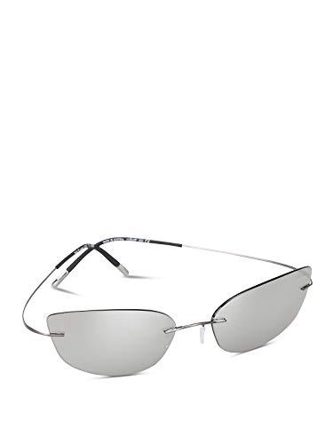 Gafas de Sol Silhouette 20 YEARS TMA 8167 SPECIAL EDITION Ruthenium/Glossy Silver talla única unisex