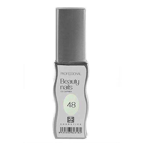 MH Cosmetics Gel Polish Vernis semi-permanent 048 Blanc Lait 1 pièce 10 ml