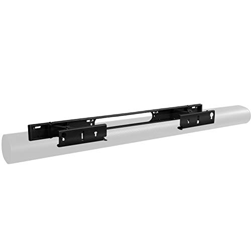 Sanus Extendable Soundbar Wall Mount Designed for Sonos Arc Sound bar - Low Profile & Audio Enhancing Design for Dolby Atmos -OSSAWM1-B2