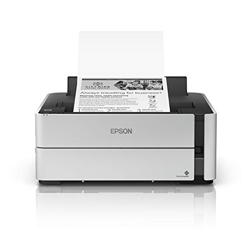 Find Discount Epson EcoTank ET-M1170 Wireless Monochrome Supertank Printer with Ethernet PLUS 2 Year...