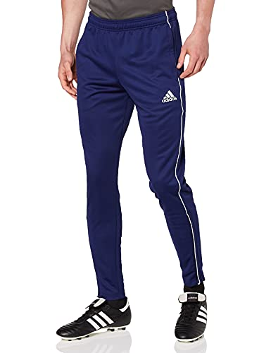 adidas Herren Core 18 Hose, blau (Dark Blue/White), L