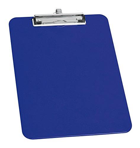 Wedo 576603 Klemmbrett A4, Stifthalter, Aufhängeöse, Blau