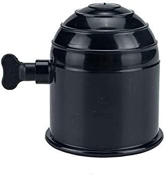 XJYDS Cubierta sintética del Remolque de la Cuerda del cabrestre La Cubierta de la Bola del Enganche de Goma se Adapta a 50 mm de diámetro para los cabrestantes, remolques (Color: Negro)