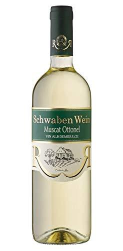 Cramele Recas | SCHWABEN WEIN Muscat Ottonel – Weißwein lieblich aus Rumänien 0,75 L