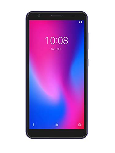 ZTE Smartphone Blade A3 2020 (13.84 cm (5,45 Zoll) HD+ Display, 4G LTE, 1GB RAM und 32GB interner Speicher, 8MP Hauptkamera und 5MP Frontkamera, Dual-SIM, Android P Go) magic blue