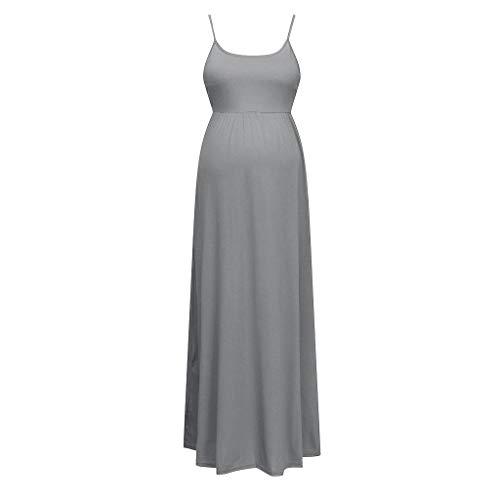 NPRADLA Tendenza per Il Tempo Libero Women Maternity Sleeveless Holiday Skirt Vestito Estivo Gravidanza Dress Discount Primavera Estate 2019
