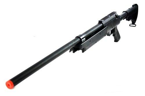 470 fps wellfire aps sr-2 modular full metal bolt action sniper rifle...