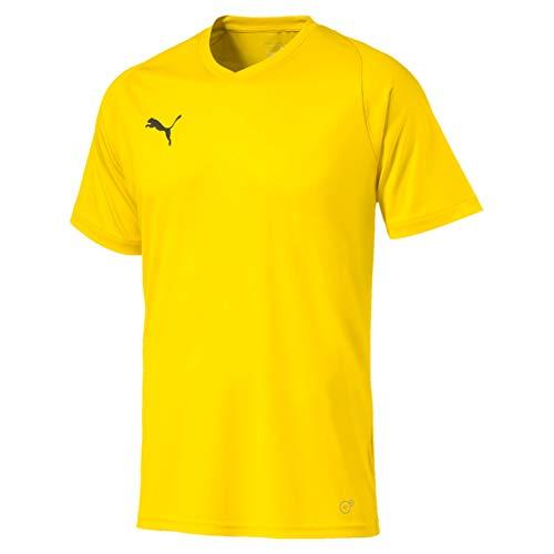 PUMA Herren Liga Jersey Core Jersey, gelb (Cyber Yellow-Puma Black), 50-52