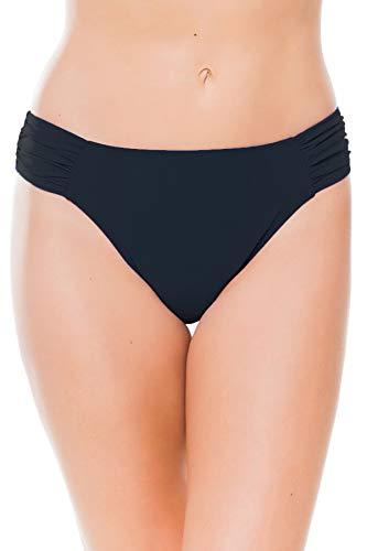 Profile by Gottex Women's Standard Side Tab Swimsuit Bottom, Tutti Frutti Black, 8