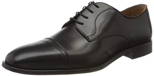 BOSS Lisbon Derbys Business-Schuhe, Schwarz