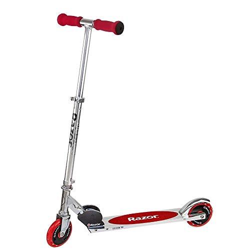 Razor A125 Scooter, Monopattino A Spinta Unisex-Adulto, Rosso, Taglia Unica