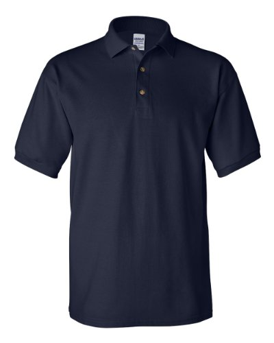 Gildan G3800 Men's Ultra Cotton Pique Polo Navy XX-Large