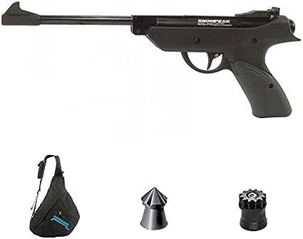 Pistola de Muelle SP500 | Arma de Aire comprimido y balines Calibre 4,5mm + Mochila y munición