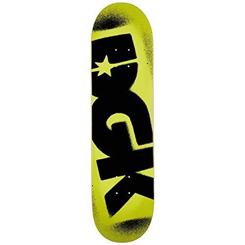 DGK Skateboards Deck Skate o.g. Logo Yellow Black 8.25