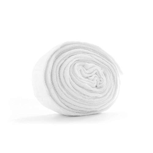 MediChoice Tubular Bandages, Net Stretch, Elastic and Polyester, White, Fits Medium Chest Back Perineum Axilla, Size 8, 25 Yards (Each of 1)