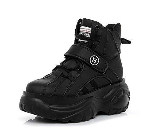 AZLLY Cool Sports Platform Hip-Hop schoenen voor dames, lichtgewicht, ademend, tennisschoenen, casual hardlopen voor reizen, backpacking, camping, trekking