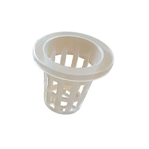 JpGdn 水耕栽培器 水耕栽培専用か ご鉢だけ スポンジウレタン培地付き用 育成ポット 給水栽培用 鉢 32-45mm 96セット入 透明