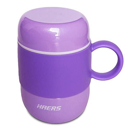 Tazza da Caffè Thermos, Tazza Thermos Piccola per Bambini e Donne Tazza da tè a Doppia Parete in Acciaio Inox a Doppia Parete[280ML/9.5OZ]