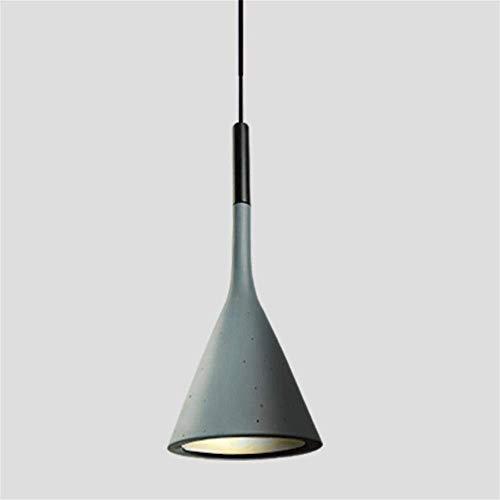 Lampadario moderno minimalista creativo nordico ristorante bar bar camera da letto Aplomb imitazione cemento lampadario