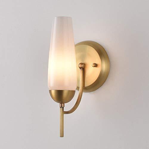 Moderne minimalistische lampenkap_American land met koper wandlamp woonkamer eetkamer werkkamer gang Nordic modern