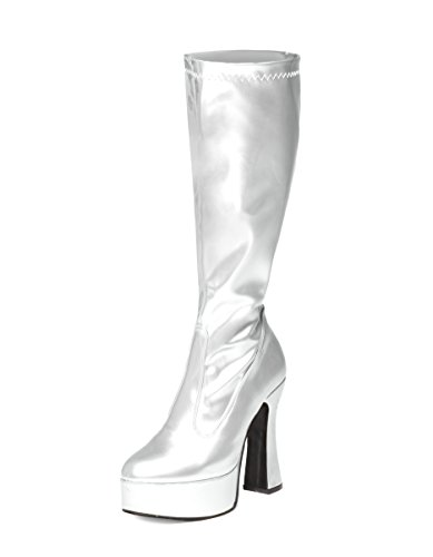 Ktc, Damen Stiefel & Stiefeletten  silber silber, silber - silber - Größe: 42 2/3