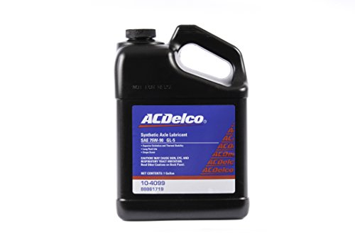 ACDelco GM Original Equipment 10-4128 GL-5 75W-90 Synthetic Lubricant - 1 gal