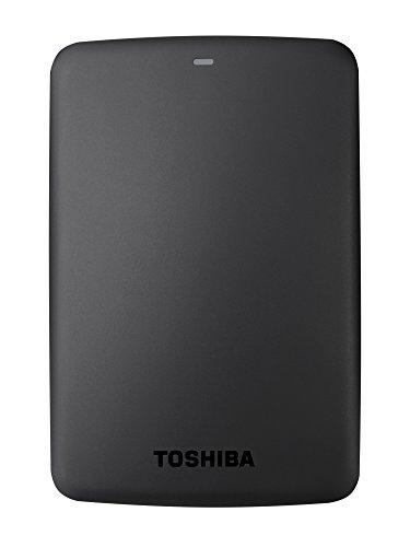 Toshiba Canvio Basics 1TB Portable External Hard Drive 2.5 Inch USB 3.0 - Black - HDTB310EK3AA