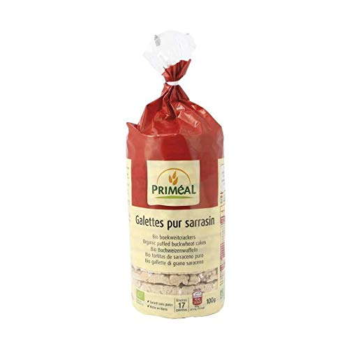Primeal 'Tortitas de trigo sarraceno sin gluten Prim al, 100 g'