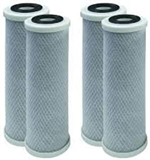 4 Pack Compatible for Flow-Pur 8 Carbon Block Filter Cartridge WCBCS-975-RV by CFS