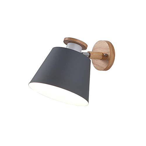 GaLon wandlamp, wandlamp van massief hout, plafondlamp voor slaapkamer, creatief, modern, minimalistisch