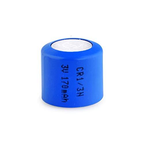 MeGgyc Pila de botón de Litio Principal CR 1 / 3N Celdas de calculadora de cámara de un Solo Uso de 3 V 8pcs