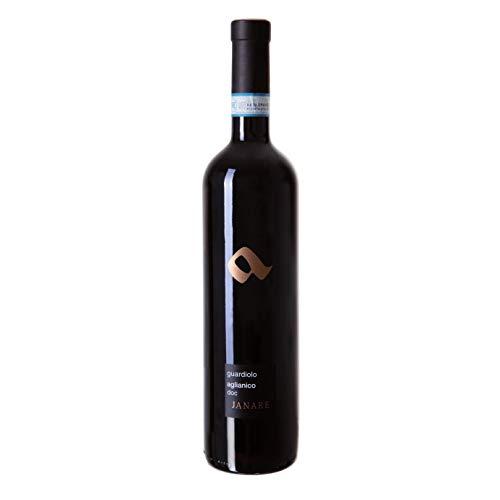 """Vino Aglianico Sannio"""" Janare"""" D.O.P rosso - La Guardiense - Cartone da 6 Pezzi"""