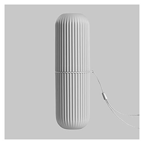 Montado en la pared Caja de la cubierta del cepillo de dientes Caja de estuche portátil de almacenamiento de cepillo de dientes para viajes al aire libre Senderismo Camping Camping Proteja ToothRush C