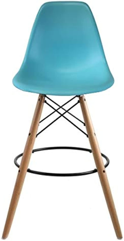 Take Me Home Furniture Eames Eiffel Stool Wood 26  in bluee