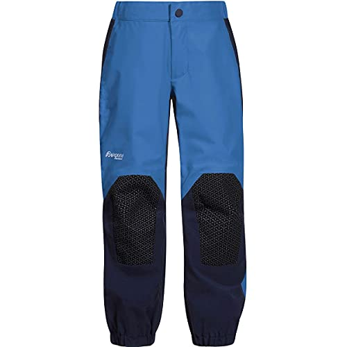 Bergans Jungen Kid's Ruffen Pant Regenhose Blau/Schwarz 104