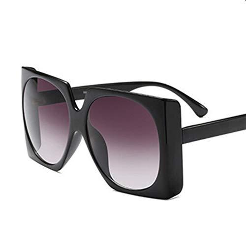 N\A Gafas de Sol de Moda Sun Marco de la Nueva Manera de Moda Popular Plaza de Las Gafas de Sol de Gran tamaño Grandes de Las Mujeres de Lujo de la Vendimia de los vidrios UV400