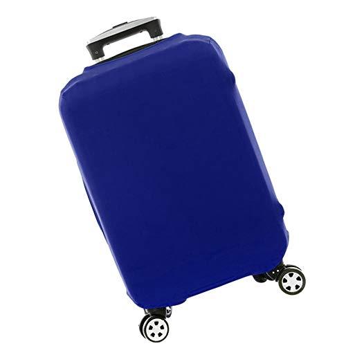 Coperture per Valigie da Viaggio Custodia Protettiva Copri Valigia Elastica Custodia Antipolvere per Protettore Bagagli a 20-28 pollici (Blu, M)