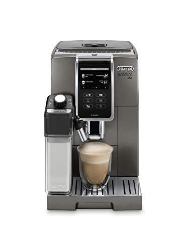 De'Longhi ECAM37095TI Dinamica Plus Fully Automatic Espresso Machine, Titanium