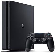 Sony Playstation 4Slim 500GB Consola de videojuegos sistema cuh-2015a), color negro