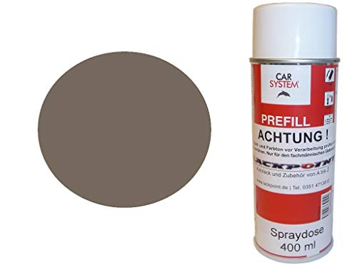 Lackpoint Spraydose 400ml 1 Komponenten Autolack RAL 7006 Beigegrau Glanz