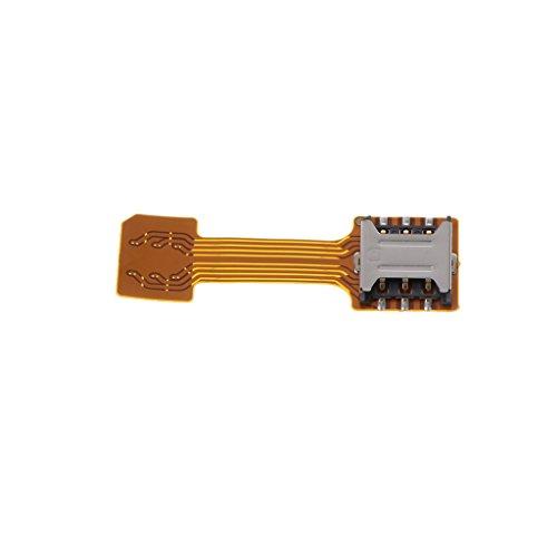 Homyl ミニ デュアル SIMカード マイクロ SD アダプタ エクステンダー Samsung/Android用 全3種 - Nano SIM