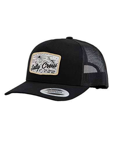 Salty Crew Frenzy Retro Trucker Black One Size