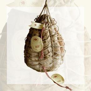 Salumificio Rossi - Culatello di Zibello DOP komplett mit Seil ungeschält (4-5Kg) - CUZIBRS