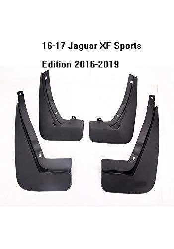 GGYSSY Vordere und hintere Spritzschutz Kompatibel mit Jaguar XF XFL XE Vollschutz Schmutzfänger All in One Spritzschutz Kit,D