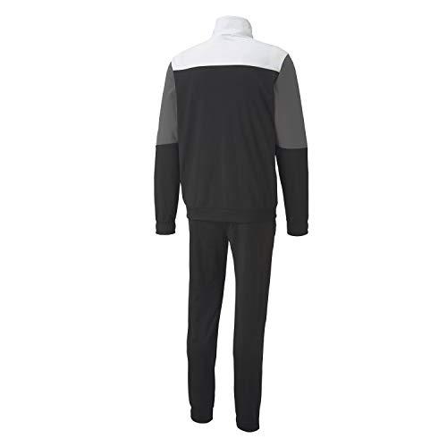 PUMA Herren CB Retro Track Suit CL Trainingsanzug, Black, S