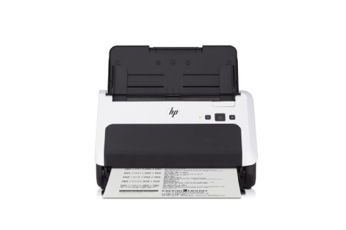 HP ScanJet Pro 3000 Scanner de documents avec bac d'alimentation Blanc /Noir