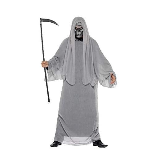 Smiffys Costume La Morte, comprende Veste e Mezza Maschera